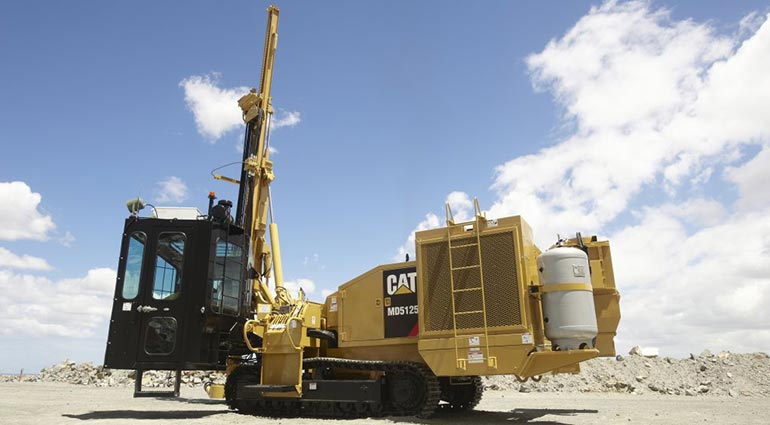 CAT MD5125 - HYDRAULIC TRACK DRILL